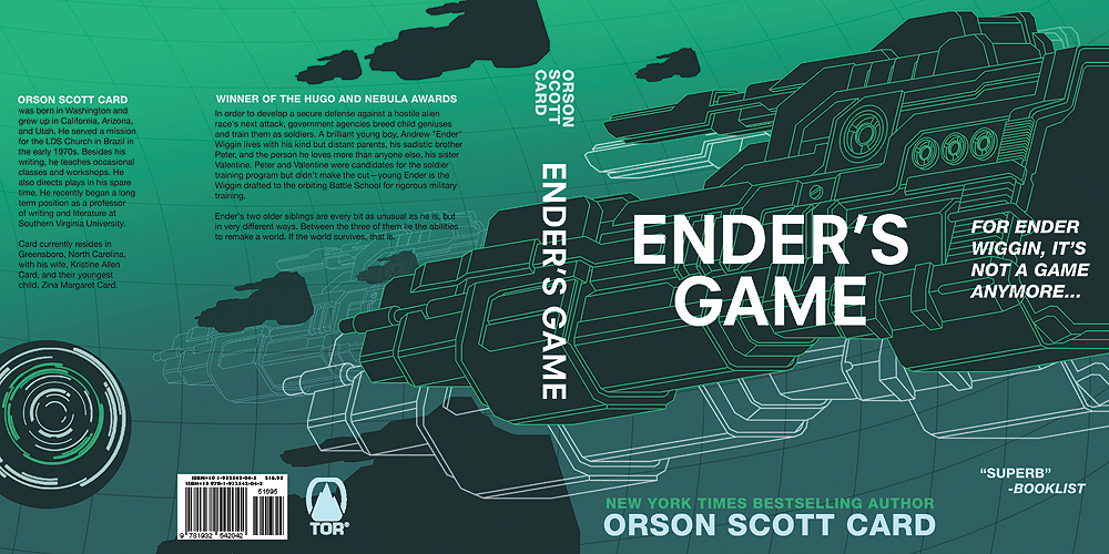 ender's game by orson scott card About orson scott card orson scott card is best known for his science fiction novel ender's game and it's many sequels that expand the ender universe into the far future and the near past.