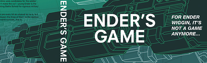 Enders Game Book Jacket Progress